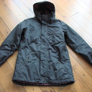 Oakley Black 3M Thinsulate Insulation Hooded Coat